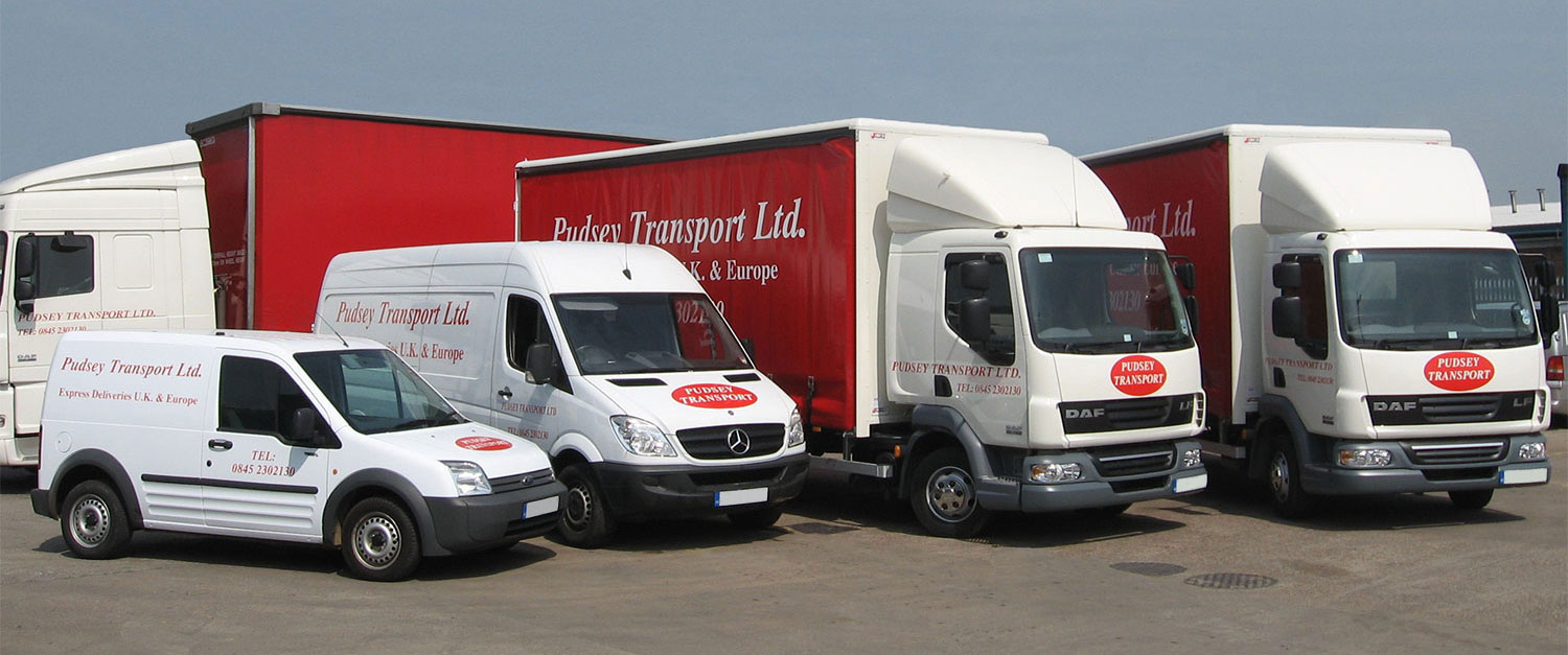 Pudsey Transport vehicles
